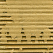 Ribbed cardboard - Stock Photo