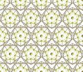 Seamless vector polygon pentagon background — Stock Vector