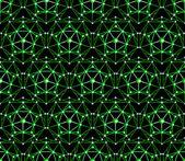 Fundo de pentágono de polígono vector sem emenda — Vetorial Stock