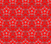 Seamless vector polygon pentagon background — Stockvector