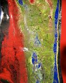 Smeltend ijs benadert. reflecterende achtergrondstructuur. — Stockfoto