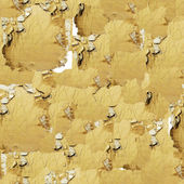 Old gypsum plasterboard. Cracked wall for seamless texture — Stock Photo