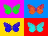 Alien butterfly — Stock Photo