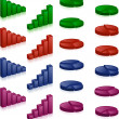 Royalty-Free Stock : 3D charts
