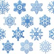 Snowflakes — Stock Vector #4138716