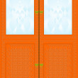 Stock Vector: Cupboard.