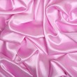 Smooth elegant pink silk as background — Foto Stock
