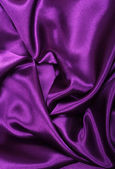 Smooth elegant lilac silk as background — Foto Stock