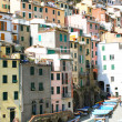 Italy. Cinque Terre.Riomaggiore village - Stock Photo