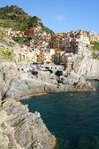 Italy. Cinque Terre region. Manarola village — Stock Photo