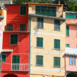 Italy. Cinque Terre region. Colorful houses of Riomaggiore — Stock Photo