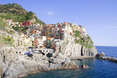 Italy. Cinque Terre. Colorful Manarola village — Stock Photo