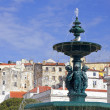 Portugal. Lisbon. fountain — Stock Photo #5155172