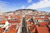 Portugal. Panorama of Lisbon — Stock Photo
