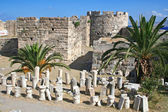 Greece. Kos. The castle of the Knights of the Order of Saint Joh — Stock Photo
