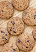 Läckra choklad chip cookies — Stockfoto