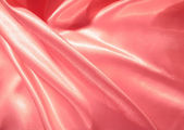 Smooth elegant pink satin as background — Foto Stock