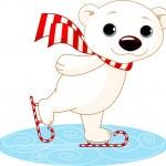 Teddy Bear showing — Stock Vector #4248217