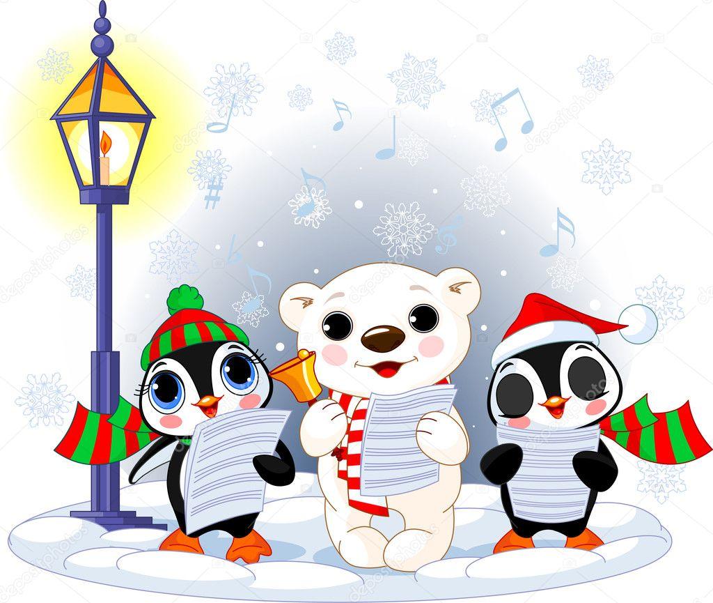 free clipart christmas carolers - photo #38