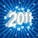 Happy new year 2011! — Stock Vector #4343855