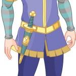 Prince charming — Stock Vector #4675143