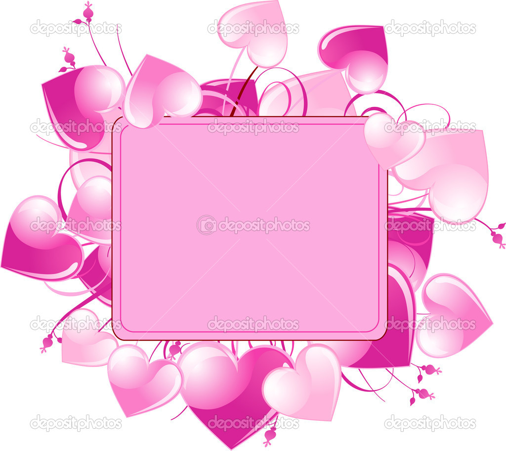 Frame With Pink Love