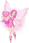Love Fairy — Stock Vector