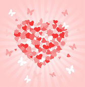 Valentines Day heart — Stock Vector