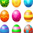 Easter eggs — Stock Vector #4976323