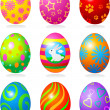 Easter eggs — Stock Vector #5053481