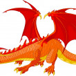 Red Dragon — Stock Vector #5114820