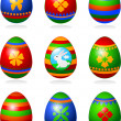 Easter eggs — Stock Vector #5196443