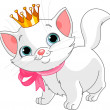 Kitten princess — Stock Vector #5218056