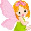 Cute baby Fairy — Stock Vector