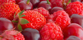 Berries, it is necessary to comprise of ration more often, after — Stock Photo