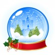 christmas  ball&quot — Stock Vector
