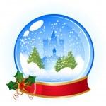 Christmas ball — Stock Vector #4248320