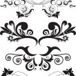 Set of ornaments - Stock Vector