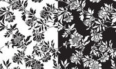 A set of black and white seamless patterns — Stock Vector