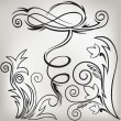 Set of ornaments 5 - Imagen vectorial