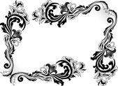 装飾的なコーナー — ストックベクタ