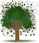 Tree Blob — Stock Vector