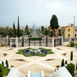 Panoramof Haifcity and Bahai Garden — Stockfoto #4798093
