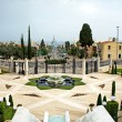 Panoramof Haifcity and Bahai Garden — Stock Photo #4798093