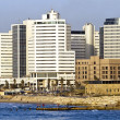 Tel-Aviv cityscape showing — Stockfoto #4867169