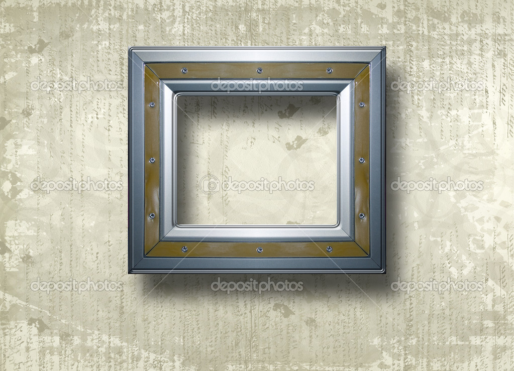 Grunge papers design in scrapbooking style with frame — Stock Photo #4025147