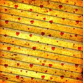 Oud papier in grunge stijl. abstracte achtergrond met hart — Stockfoto