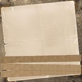 Antiguo fondo grunge con papel abstracto enajenado — Foto de Stock