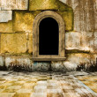 The old stone room with window in Victorian style — Stock Photo #4178311