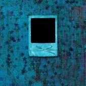 Ile kağıt slaytta grunge arka plan ile yıldız — Stok fotoğraf